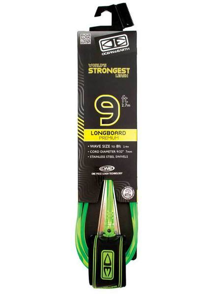Longboard Premium 9ft One Piece Leash