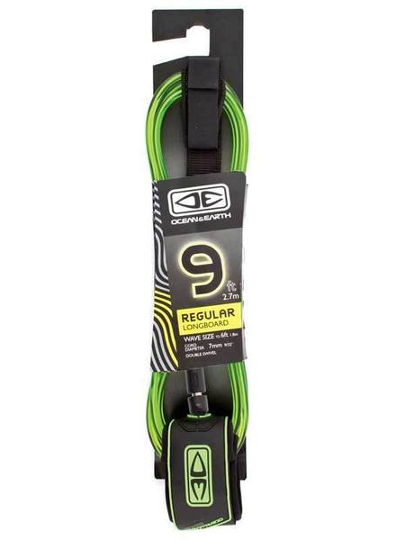 Longboard Regular Moulded Leash 9'0""