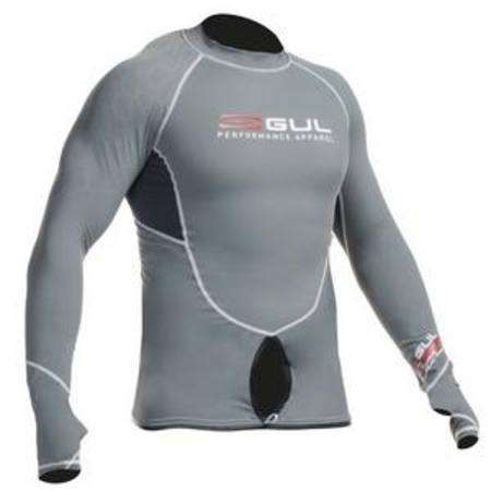Code Zero Pro Sailing L/S Rashguard -  New - With  opening to fit around the Trapeze Harness Hook