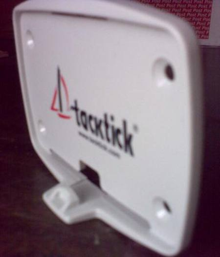 "Tacktick ""snap in"" cradle allows quick installation.  